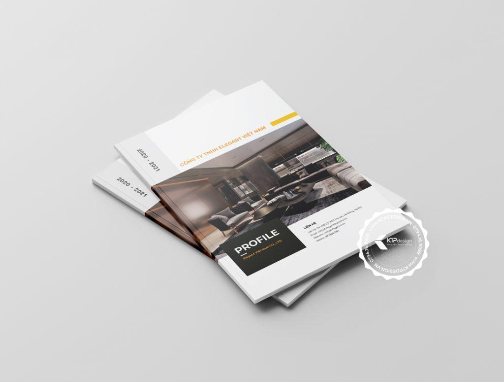 Bìa hồ sơ năng lực công ty nội thất