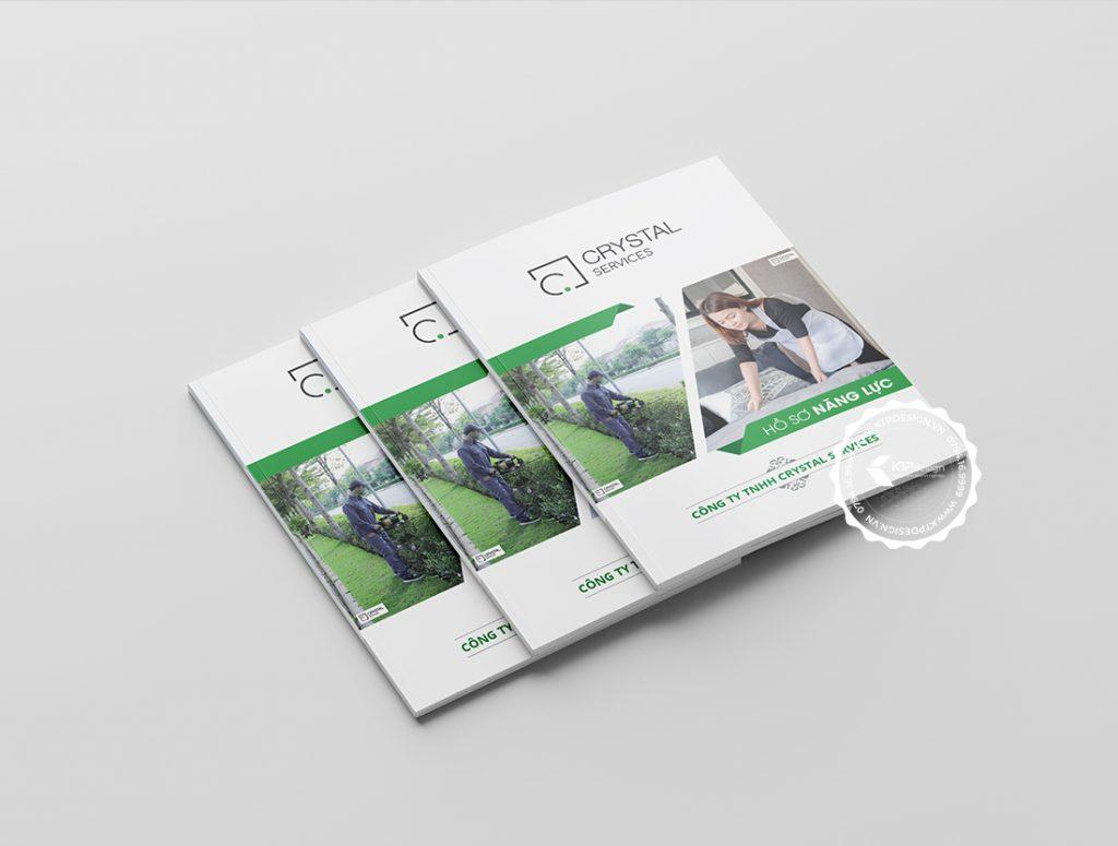 Bìa hồ sơ năng lực vệ sinh công nghiệp